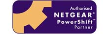 Blue Lions Systems are a Netgear Powershift Partner